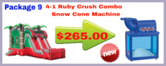 Ruby Crush Combo + Snow Cone Machine
